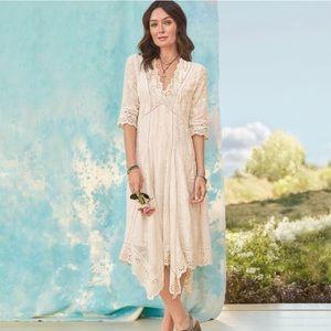 🆕 Sundance Blooming Romance Eyelet Lace Dress 14